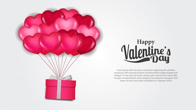 Modello di banner giorni di san valentino