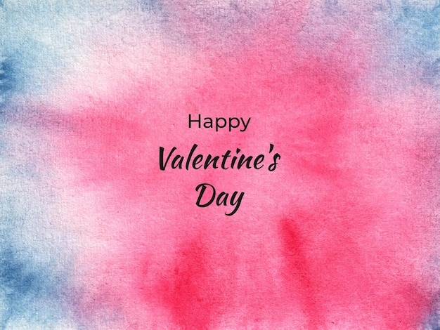 Trama di sfondo acquerello astratto di san valentino