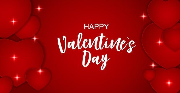 San valentino amore e sentimenti vendita sfondo. illustrazione