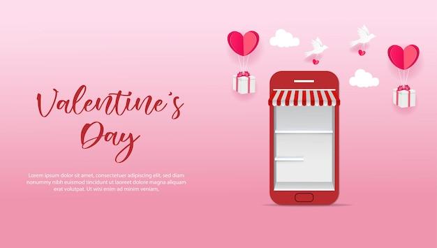 San valentino servizio mobile web design con amore