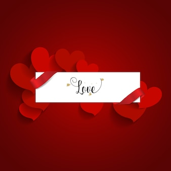 San valentino design di sfondo