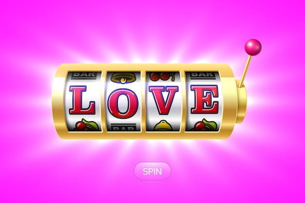 Elemento di design biglietto di auguri di san valentino