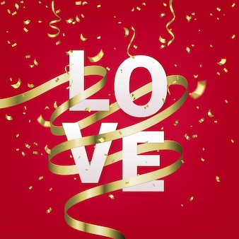 Modello di biglietto di auguri di san valentino.