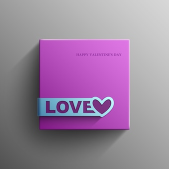 San valentino, amore, banner