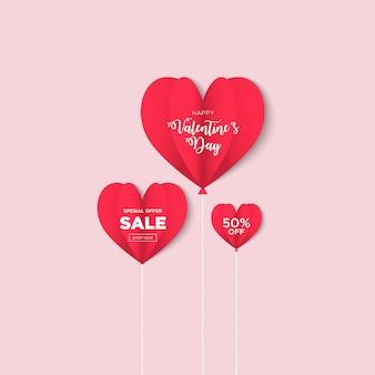 San valentino sfondo di vendita