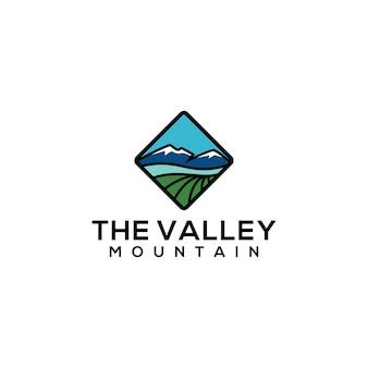 Modello di logo della valle