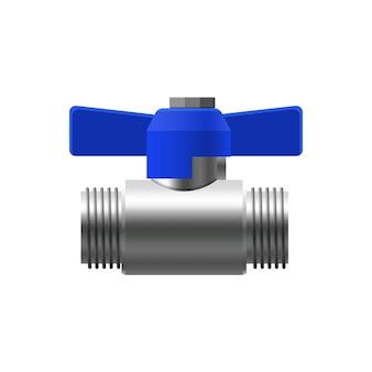 Valvola raccordi a sfera tubi di metallo sistema di tubazioni valvola acqua olio gasdotto tubi liquami