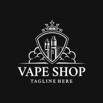 Logo del negozio di vaporizzatori