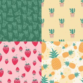 Varietà di pattern di sfondo
