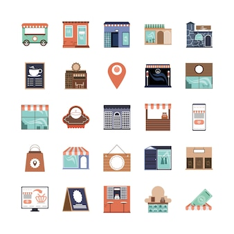 Varie piccole imprese