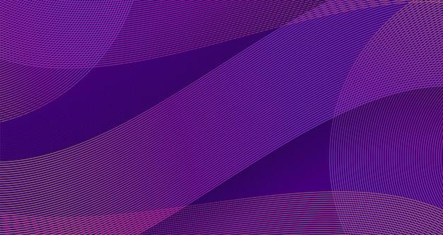 Vector abstract background presentazione moderna curva d'onda design background