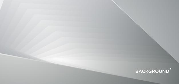 Priorità bassa geometrica astratta del metallo d'argento di vettore