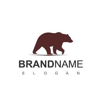Logo dell'orso vettoriale