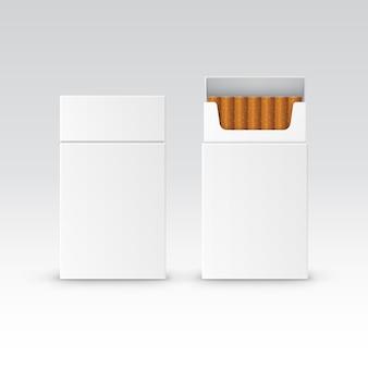 Pacchetto di pacchetto vuoto di vettore scatola di sigarette