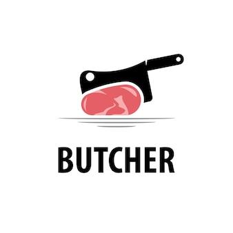 Logo del macellaio vettoriale