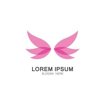 Archivio fotografico - farfalla concettuale semplice icona. logo. illustrazione vettoriale