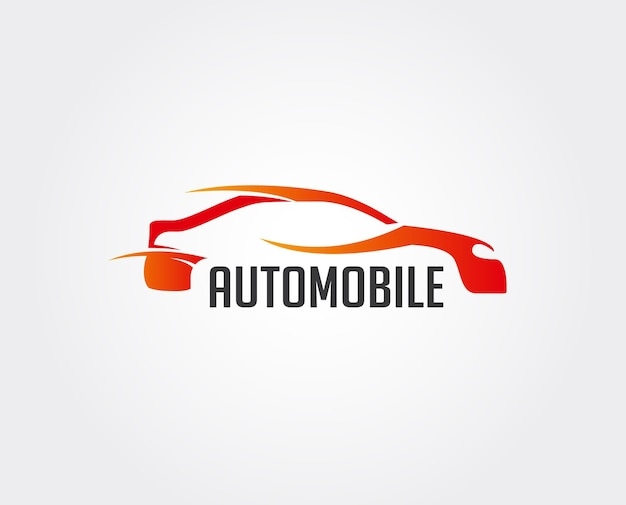Vector car wash logo, automobiler/auto da corsa/design automobilistico - vector