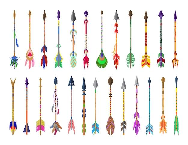 Accumulazione di vettore delle frecce colorate.