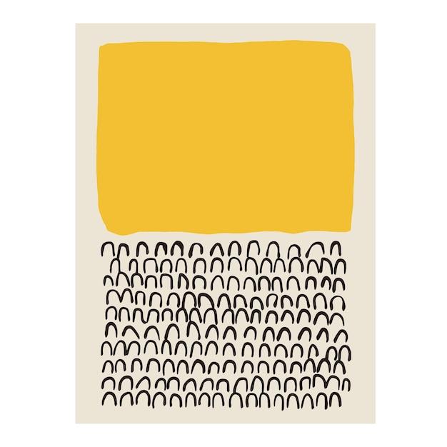 Illustrazione vettoriale di forma contemporanea e illustrazione di linee grafiche risorse grafiche opere d'arte digitale