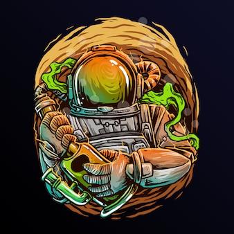 Vettore del distintivo di logo del club di pesca