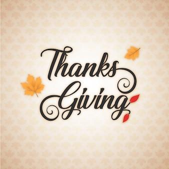 Vettore disegnato a mano illustrazione di ringraziamento lettering saluto