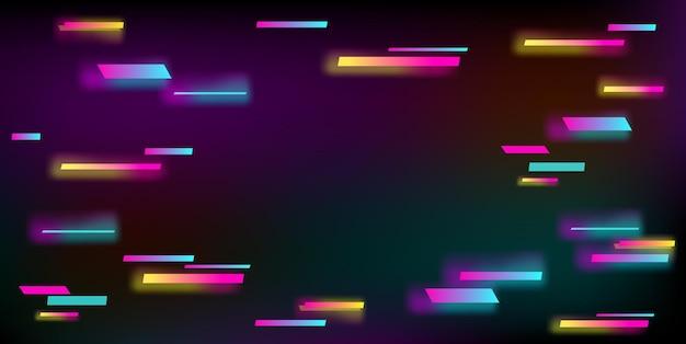 Illustrazione vettoriale di uno sfondo astratto glitch.