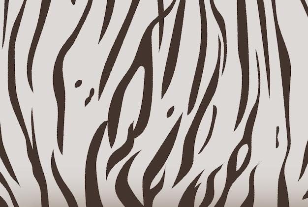 Illustrazione di vettore del modello della banda della tigre di bengala