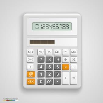 Strumento calcolatrice illustrazione vettoriale. arte di illustrazione vettoriale