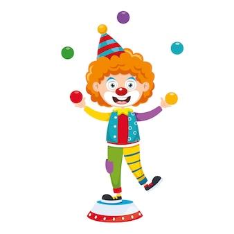 Illustrazione vettoriale del circo