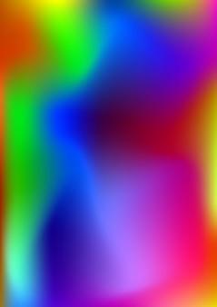 Illustrazione vettoriale di sfondo astratto colorato nei toni del rosso, blu e verde