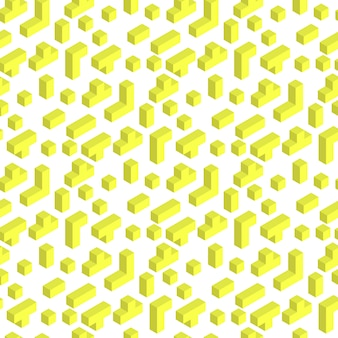 Illustrazione di vettore che gioca il modello di seamles del mattone