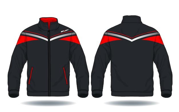 Illustrazione vettoriale di giacca sportiva.