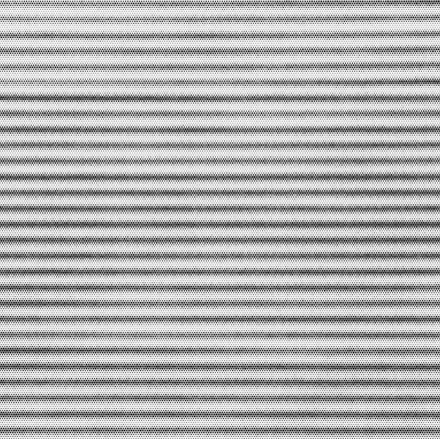 Linee d'onda moderne sfumate vettoriali in bianco e nero monocromatico semitono astratto decorazione realistica texture di sfondo