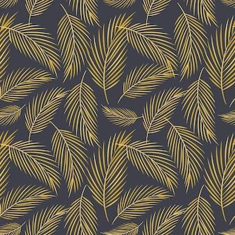 Reticolo senza giunte moderno di vettore. doodle immagini piatte di piume di diverse dimensioni e forma. carta da regalo e decorazione di sfondo.