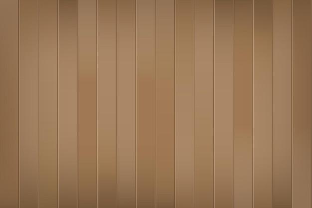 Struttura di legno realistica di vettore quercia marrone scuro naturale fondo del pavimento o della superficie della parete del tavolo