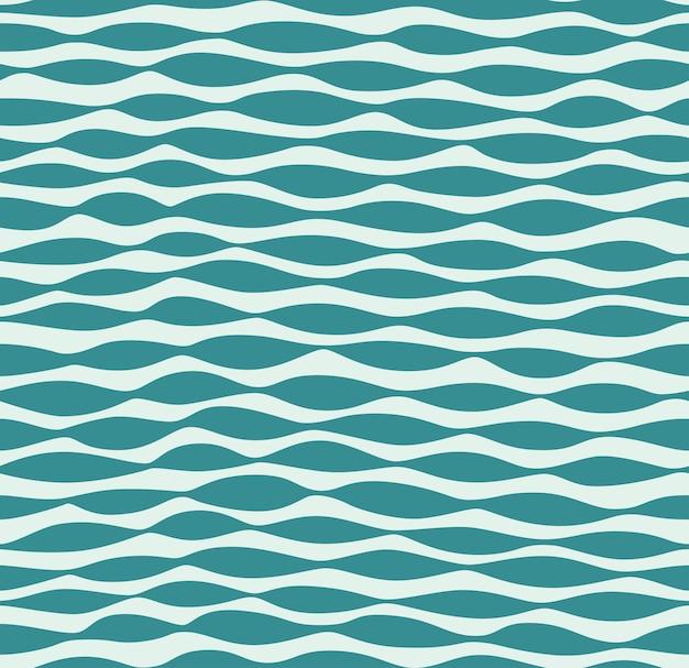 Modello di onde astratte senza cuciture di vettore