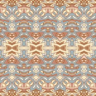 Vector seamless arte africana batik ikat. design in tessuto vintage con stampa etnica.