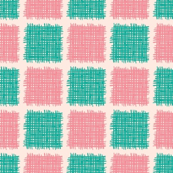 Vector seamless pattern con forme astratte.