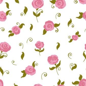 Reticolo di rosa senza giunte di vettore