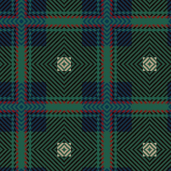 Reticolo senza giunte del tartan di vettore. sfondo d'epoca. plaid scozzese senza cuciture. design geometrico di moda. modello astratto. trama tessuta scozzese. modello senza cuciture classico tartan.