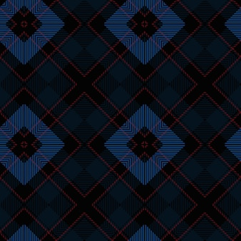 Reticolo senza giunte del tartan di vettore. sfondo di natale d'epoca. plaid scozzese senza cuciture. design geometrico di moda. modello astratto di natale. trama tessuta scozzese. modello senza cuciture classico tartan.