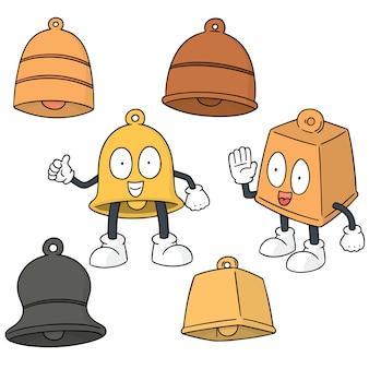 Set vettoriale di campana