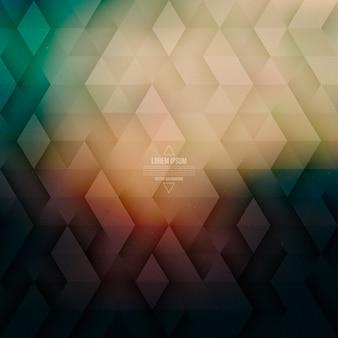Tecnologia vettoriale astratto geometrico sfondo retrò