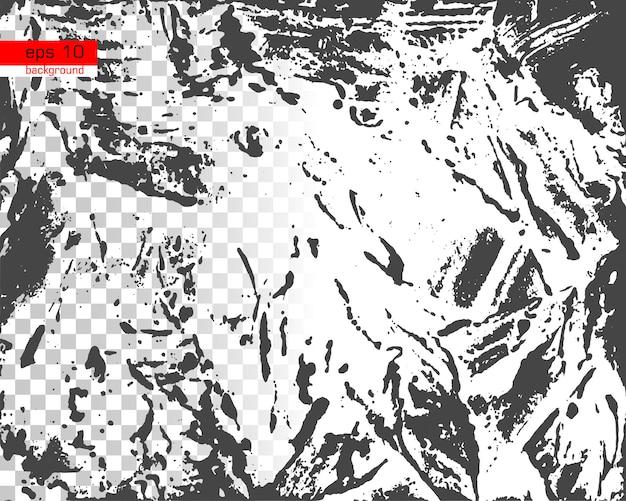 Texture vettoriale effetto vintage con rumore e grana disordinata sovrapposizione di polvere distress background