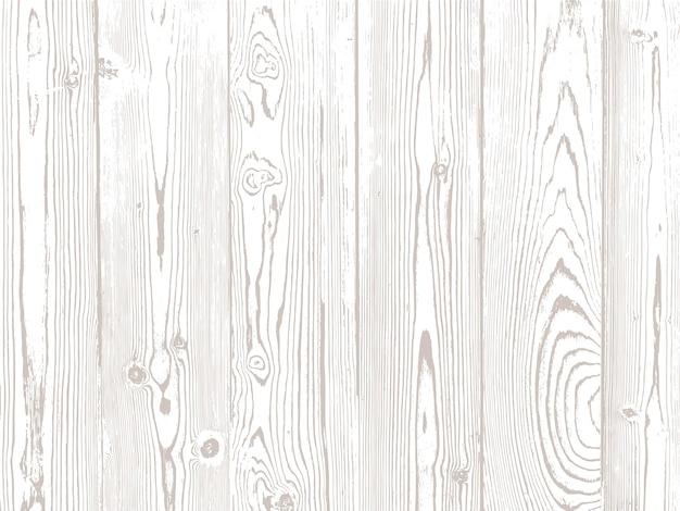 Struttura di legno di vettore. materiale naturale su sfondo bianco.