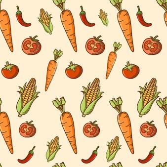 Sfondo di verdure
