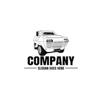 Modello di logo del veicolo. icona auto per il design aziendale. noleggio, riparazione, concetto di garage.