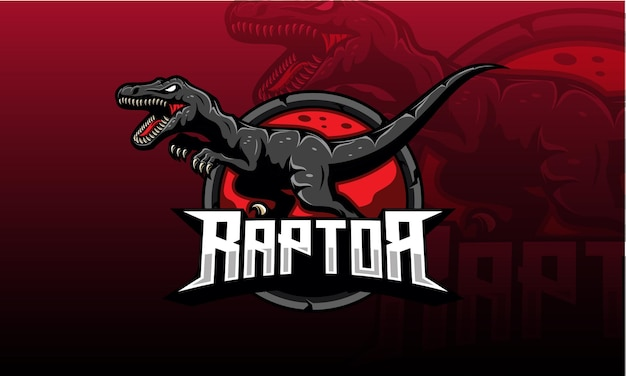 Logo di velociraptor esport