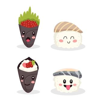 Varietà molto carina di cibo tradizionale giapponese makanan?