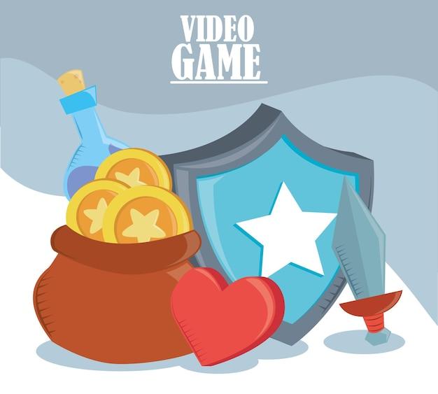 Scheda per videogiochi